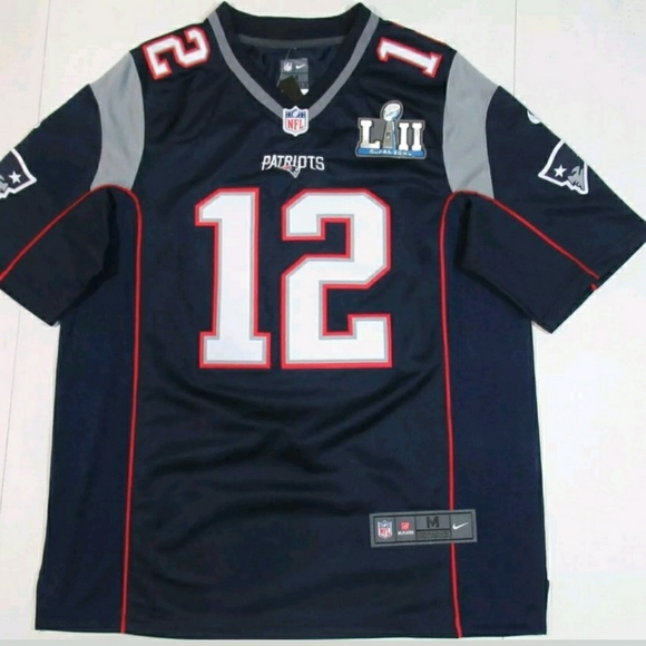 tom brady superbowl 52 jersey
